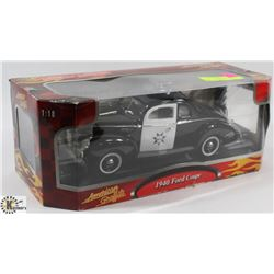 AMERICAN GRAFFITI 1970 FORD COUPE 1:18 SCALE DIE