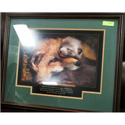 THE ESSENCE OF COMPASSION WOOD FRAMED