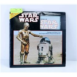 THE STORY OF STAR WARS 16 PAGE PHOTO ALBUM FROM