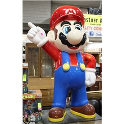3' TALL MARIO FIGURE. COLLECTIBLES