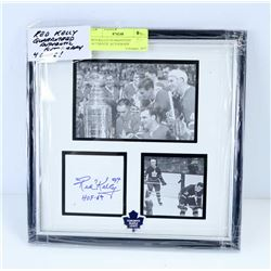 RED KELLY GUARANTEED AUTHENTIC AUTOGRAPH