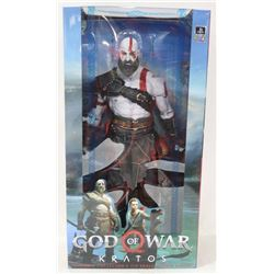 GOD OF WAR KRATOS 1:4 SCALE ACTION FIGURE.