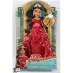 ELENA OF AVALOR ROYAL GOWN DOLL.