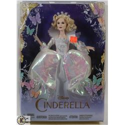 DISNEY CINDERELLA FAIRY GODMOTHER DOLL.