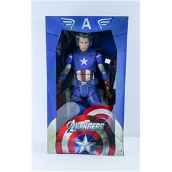 CAPTAIN AMERICA AVENGERS 1:4 SCALE ACTION FIGURE.