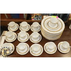 36PC PHILKRAFT PORCELAIN DINNERWARE BAVARIA GERMANY
