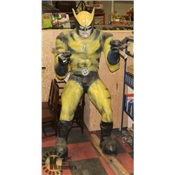 7' WOLVERINE FIGURE. COLLECTIBLES