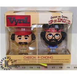 VYNL CHEECH & CHONG VINYL FIGURES.