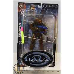 HALO 2 BROWN SPARTAN LIMITED EDITION ACTION FIGURE