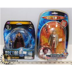 LOT OF 2 DOCTOR WHO ACTION FIGURES.