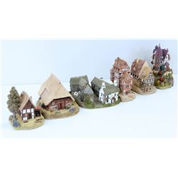 SHELF OF LILLIPUT LANE ASSORTED MINIATURE
