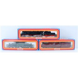 FLAT OF ASSORTED MODEL TRAINS.MARKLIN HO SCALE