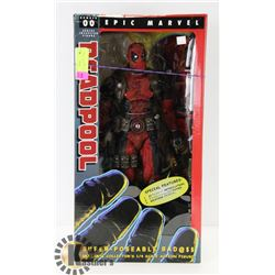 EPIC MARVEL DEADPOOL SUPER POSEABLE BAD@$$