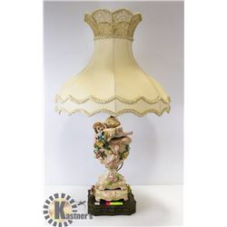 ITALIAN CAPODIMONE PORCELAIN LAMP