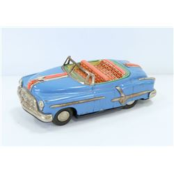 1960'S TIN CONVERTIBLE FRICTION CAR