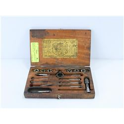 ANTIQUE RIMAC TAP & DIE SET #73 MADE IN N.Y. , N.Y