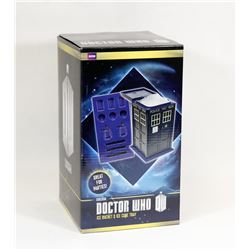 DOCTOR WHO ICE BUCKET & ICE CUBE TRAY.