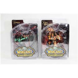 LOT OF 2 WORLD OF WARCRAFT FIGURES.