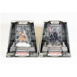 LOT OF 2 STAR WARS TITANIUM SERIES DIE CAST