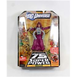 DC UNIVERSE DESAAD ACTION FIGURE.