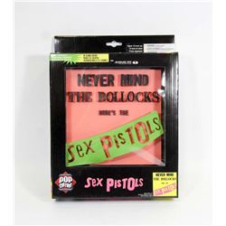 SEX PISTOLS 3D ALBUM COVER.