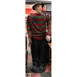 FREDDY KRUEGER ANIMATED 6' FIGURE.