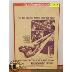 "ORIGINAL 1968 MOVIE POSTER ""THE STALKING MOON"""