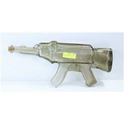 BLOWN GLASS AK-47 COLLECTIBLE