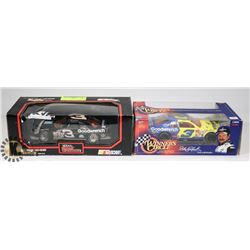 2 DIE CAST CARS 1:24 SCALE INCL #3 STOCK NASCAR