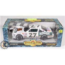 1997 GRAND PRIX KODIAK DIE CAST NASCAR 1:18 SCALE.
