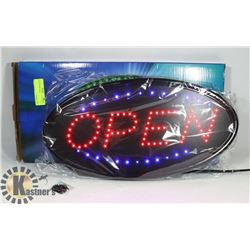 NEW LED OPEN SIGN. ELECTRONICS