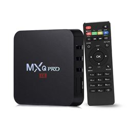 NEW ANDROID MXQ PRO 4K ANDROID TV BOX. ELECTRONICS