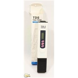 NEW TDS WATER QUALITY TEST METER. ELECTRONICS