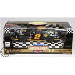 1990 RUSTY WALLACE 1:18 SCALE DIE CAST NASCAR.