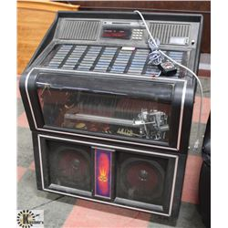 1980S NSM JUKEBOX - FULL OF RECORDS, NOT WORKING,