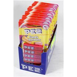BOX WITH 72 PEZ REFILLS