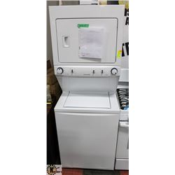FRIGIDAIRE ELECTRIC WASHER/DRYER LAUNDRY CENTER.