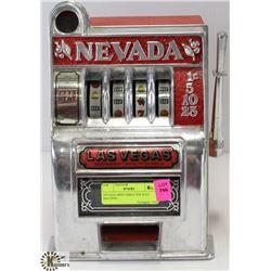 NEVADA MINI TABLE TOP SLOT MACHINE.