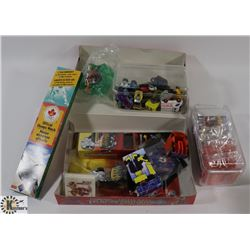 BOX OF ASSORTED COLLECTIBLES