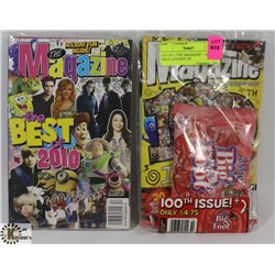"""LOT OF 2 """"THE MAGAZINE"""" - 100TH ISSUE AND BEST OF"""