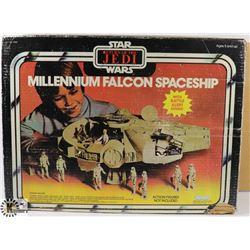 MILLENNIUM FALCON IN BOX.