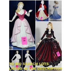 FEATURED ROYAL DOULTON FIGURINES