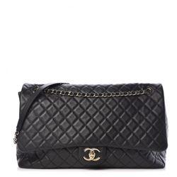 Chanel Quilted Calfskin XXL Flap Bag