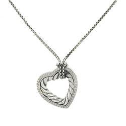 David Yurman Diamond Sterling Silver Necklace