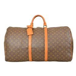 Louis Vuitton Monogram Keepall 60 Duffel Bag