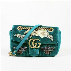 Gucci Velvet Shoulder Bag