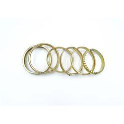 Gold Filled Bracelets (6 Total)