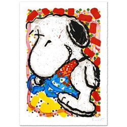 """Hip Hop Hound"" Limited Edition Hand Pulled Original Lithograph (30"" x 47"") by Renowned Charles Schu"