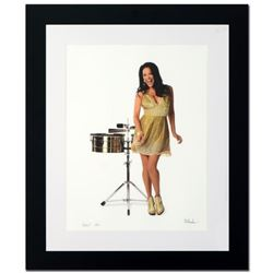 """Sheila E."" Limited Edition Giclee by Rob Shanahan, Numbered and Hand Signed with COA. This piece co"