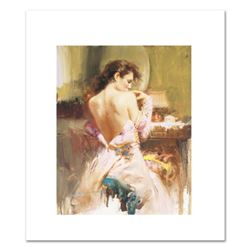 "Pino (1931-2010), ""Ballgown"" Limited Edition on Canvas, Numbered and Hand Signed with Certificate of"